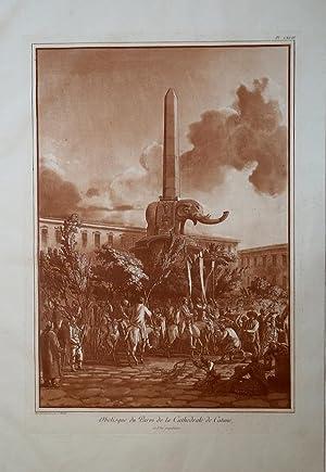 Obelisque du Parvi de la Cathedrale de: HOUEL Jean Pierre