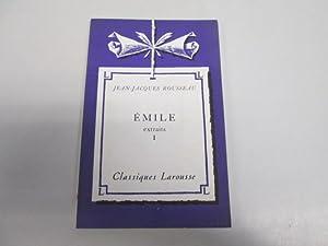 Image du vendeur pour Emile - 1 mis en vente par Goldstone Rare Books