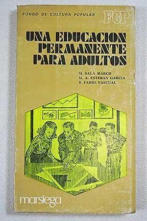 Una educación permanente para adultos: Sala March, Montserrat
