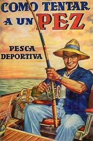 Como tentar a un pez pesca deportiva.