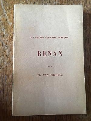 Renan: PHILIPPE VAN TIEGHEM