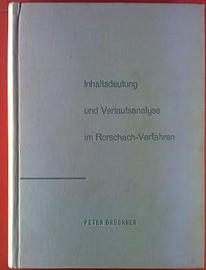 Inhaltsdeutung und Verlaufsanalyse im Rohrbach-Verfahren. Eine Untersuchung an jugendlichen ...