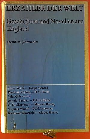 Erzähler der Welt. Geschichten und Novellen aus England. 19. und 20. Jahrhundert.: Hrsg. Karl ...
