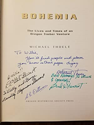 Bohemia - The Life and Times of an Oregon Timber Venture