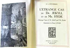 L'Etrange cas du Dr. Jekyll et de Mr. Hyde eStrange caseof Dr. Jekyll and Mr. Hydee. Illustration...