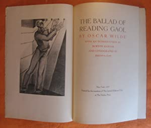 The Ballad of Reading Gaol: Wilde, Oscar; Rascoe,