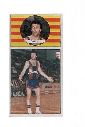 Imagen del vendedor de Cromo: Baloncesto 1986-1987: numero 02: Costa del Barcelona a la venta por EL BOLETIN