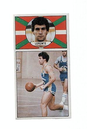 Imagen del vendedor de Cromo: Baloncesto 1986-1987: numero 10: Toño Lorente del Caja Bilbao a la venta por EL BOLETIN