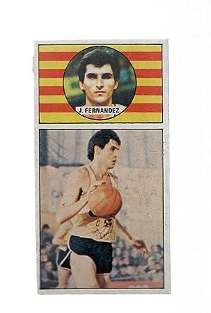 Imagen del vendedor de Cromo: Baloncesto 1986-1987: numero 033: J.Fernandez del Cacaolat a la venta por EL BOLETIN