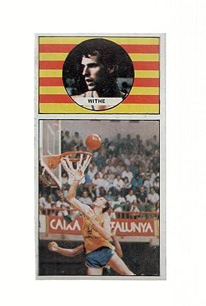 Imagen del vendedor de Cromo: Baloncesto 1986-1987: numero 035: Withe del Cacaolat a la venta por EL BOLETIN