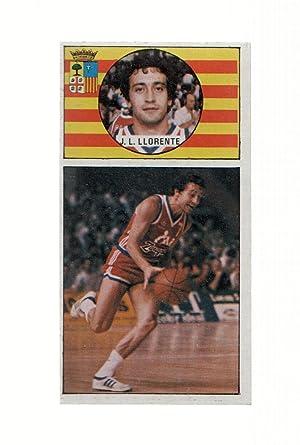 Imagen del vendedor de Cromo: Baloncesto 1986-1987: numero 037: Jose Luis Llorengte del Cai Zaragoza a la venta por EL BOLETIN