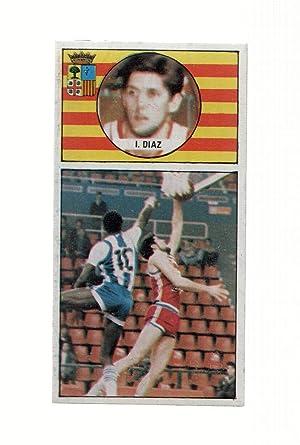 Imagen del vendedor de Cromo: Baloncesto 1986-1987: numero 044: Jose Luis Diaz del Cai Zaragoza a la venta por EL BOLETIN