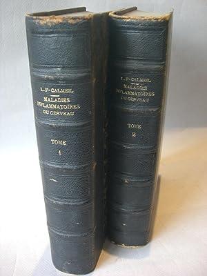 Traité des maladies inflammatoires du cerveau.: CALMEIL, L.-F.;