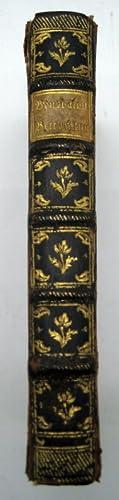 Ganzledereinband um 1790 mit marmorierten Deckeln, reicher: Einbände.