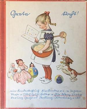 Grete kocht, ein Kinderkochbuch für Kinder von 6-12 Jahren,: Holst, Adolf,