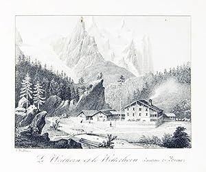 Souvenirs de la Suisse. Canton de Berne.