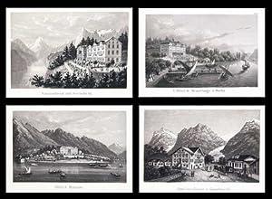 Souvenir de la Suisse. Album de 50