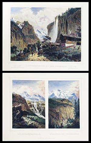 Erinnerung an die Schweiz / Souvenir de: ROHBOCK, L. (del.)