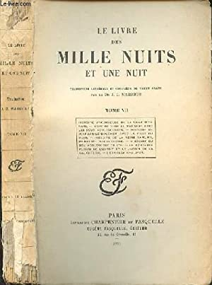 LE LIVRE DES MILLE NUITS ET UNE: MARDRUS J.-C. DR