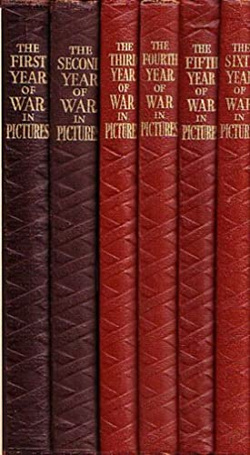 THE WAR IN PICTURES (in 6 Volumes): WWII