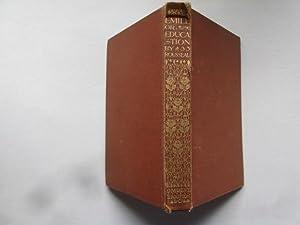 Image du vendeur pour Emile or Education mis en vente par Goldstone Rare Books