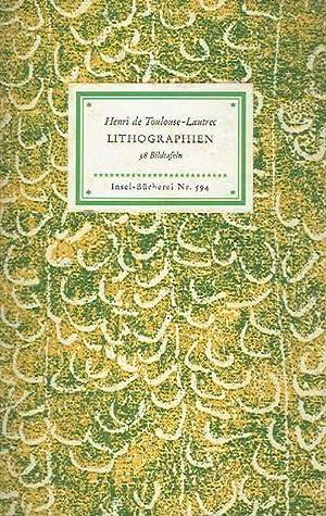 Lithographien. 38 Bildtafeln.: Henri de Toulouse-Lautrec.