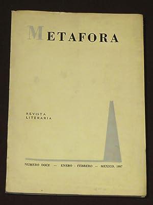 Metáfora. Revista Literaria. Número 12. Enero-Febrero, 1957: Gonzalez Rojo, Enrique