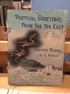 Poetical Greetings from the Far East: Japanese: Florenz, Karl Adolf