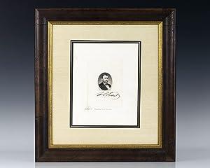 Ulysses S. Grant Signed Engraving.: Grant, Ulysses S