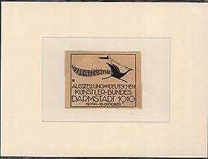 Bild des Verkäufers für Ausstellung des Deutschen Künstler-Bundes Darmstadt 1910. zum Verkauf von Stader Kunst-Buch-Kabinett ILAB
