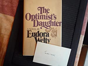 The Optimist's Daughter (author-signed card)