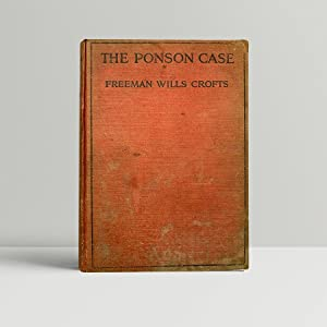 The Ponson Case - the Author's second novel