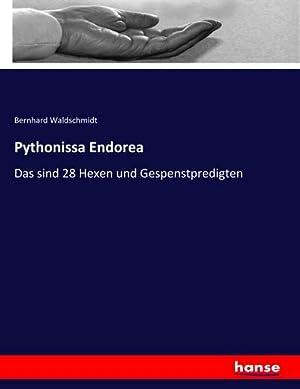 Pythonissa Endorea : Das sind 28 Hexen und Gespenstpredigten: Bernhard Waldschmidt