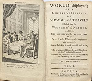 The World Displayed; or, a Curious Collection of Voyages and Travels . 20 vols. In 10 . LEATHER