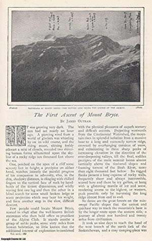 The First Ascent of Mount Bryce, British Columbia, Canada. An original article from The Strand Ma...