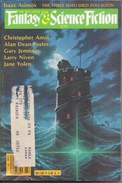 The Magazine of FANTASY AND SCIENCE FICTION: F&SF (Garry Kilworth;