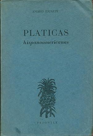PLÁTICAS HISPANOAMERICANAS: IDUARTE, Andrés