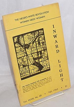 Seller image for Inward Light: vol. 28, #68, Fall 1965: The Negro-White Revolution, Women Need Women for sale by Bolerium Books Inc.