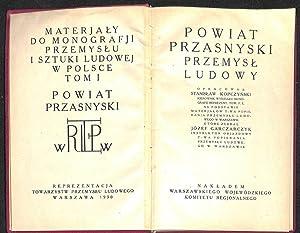 Powiat przasnyski : przemysl ludowy.: Kopczynski, Stanislaw.