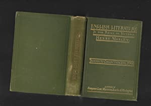 Collection of British Authors. Tauchnitz Edition vol. 2000. Of English Literature in the Reign of ...