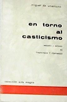 En torno al casticismo.: UNAMUNO, Miguel de.-