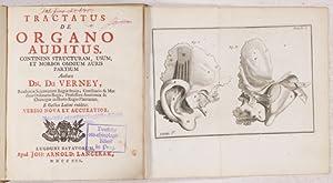 Tractatus de organo auditus. + Cassebohm, J.: Du Verney (Duverney),