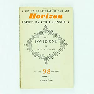 THE LOVED ONE in Horizon issue 98: WAUGH, Evelyn [CONNOLLY,