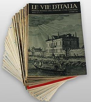LE VIE D'ITALIA. Rivista mensile. Anni 1924: Touring Club Italiano.