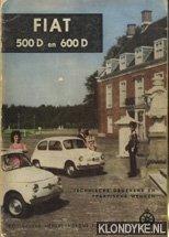 Fiat 500 D en 600 D. Technische: Bos, P. &