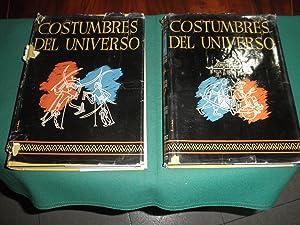 Costumbres del Universo. Tradiciones, ritos, vida y: A. C. Haddon