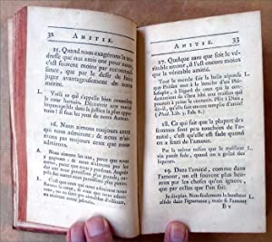 Les Pensées, Maximes, et Réflexions Morales de François VI. Avec des remarques et notes critiques, ...