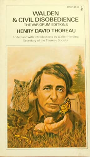 Seller image for Walden and Civil Disobedience The Variorum Editions for sale by The Parnassus BookShop