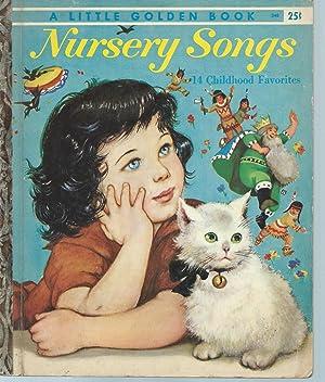 NURSERY SONGS - FOURTEEN CHILDHOOD FAVORITES -: Gale, Leah