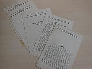 5 Sonderdrucke.: Seelmann, Wilhelm: